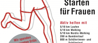 Kirchhof w o m a n unterstützt den Kasseler Frauenlauf!
